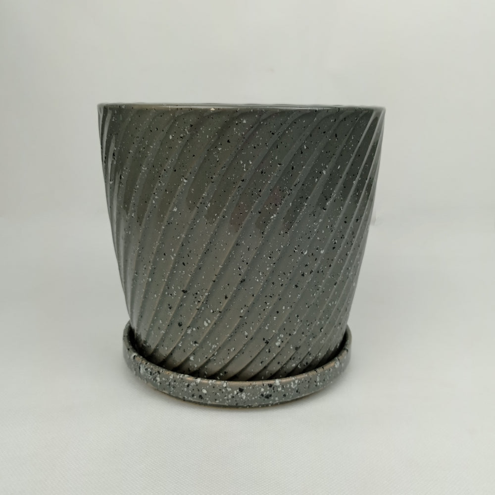 Ceramic Screw Pot (S)