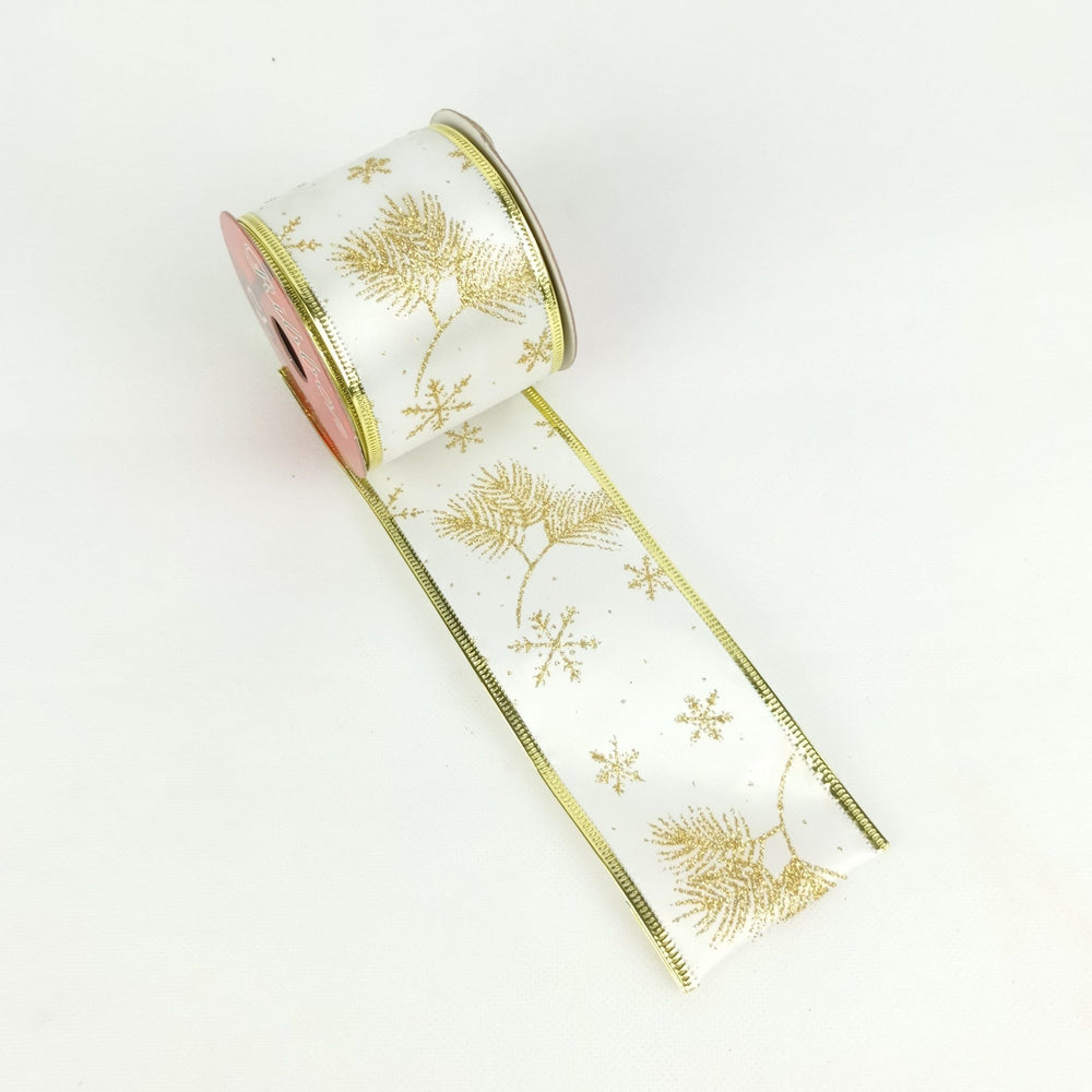 Xmas Ribbon 003 (Imported) - White Gold