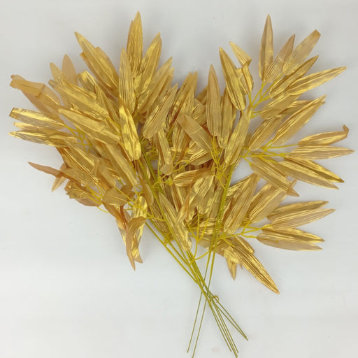 A. Single Gold Leaves - Gold
