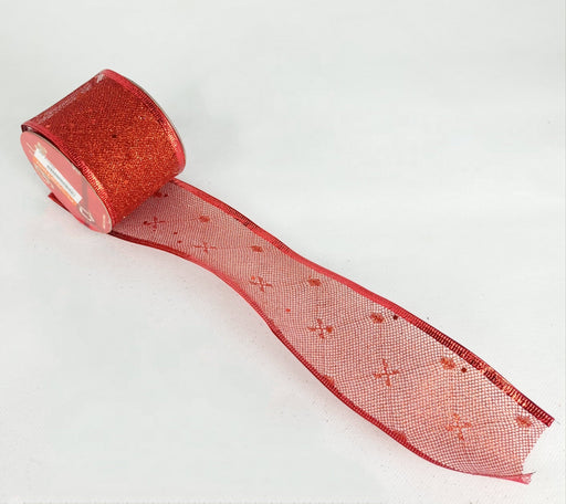 Xmas Ribbon 003 (Imported) - Red