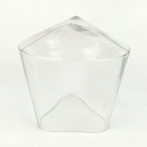 Glass Triangular Small (Imported)
