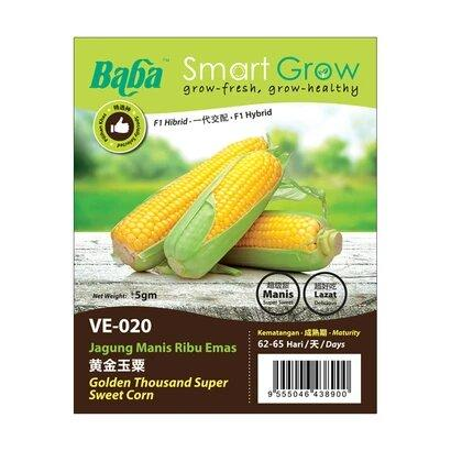 BABA Ve-Mix Seeds - Golden Thousand Super Sweet Corn