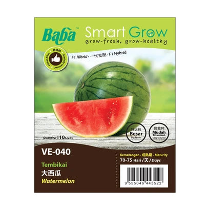 BABA Ve-Mix Seeds - Watermelon