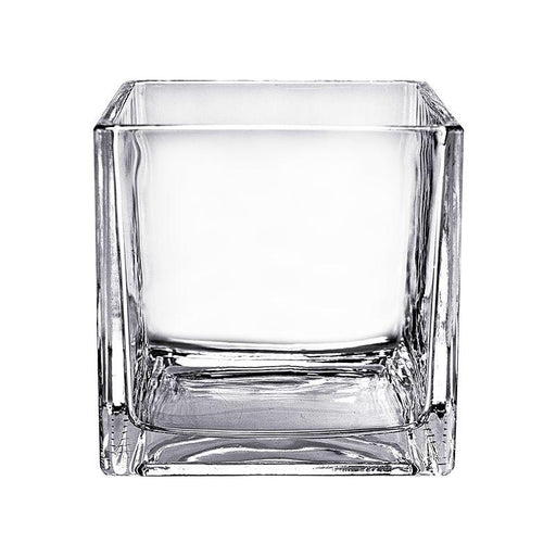 Glass Square Vase 8x8cm (Imported)