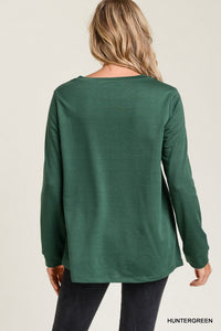 Pearled Sweater Top