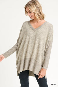 Oversized Taupe Sweater
