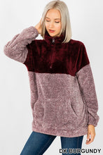 Two-Tone Pullover