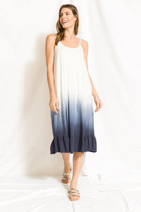 Ombré Slip Dress