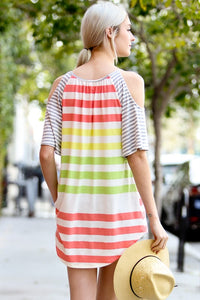 Breezy Stripes Top