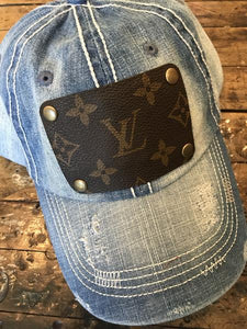 Denim LV Hat