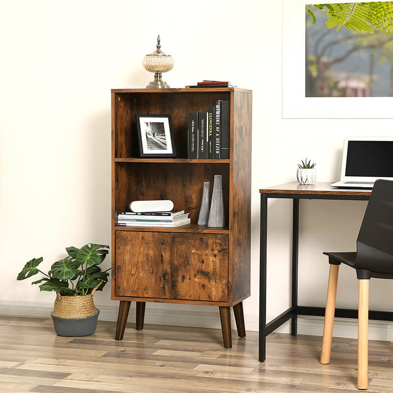 Enjoy fast, free nationwide shipping!  Family owned and operated, HawkinsWoodshop.com is your one stop shop for affordable furniture.  Shop HawkinsWoodshop.com for solid wood & metal modern, traditional, contemporary, industrial, custom, rustic, and farmhouse furniture including our Ryan Retro 2-Tier Bookcase.