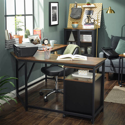 Enjoy fast, free nationwide shipping!  Family owned and operated, HawkinsWoodshop.com is your one stop shop for affordable furniture.  Shop HawkinsWoodshop.com for solid wood & metal modern, traditional, contemporary, industrial, custom, rustic, and farmhouse furniture including our Ryan L-Shaped Home Office Corner Desk.