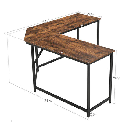 Shop hawkinswoodshop.com for solid wood & metal modern, traditional, contemporary, industrial, custom, rustic, and farmhouse furniture including our Ryan L-Shaped Home Office Desk.  Ask about our free nationwide delivery service.