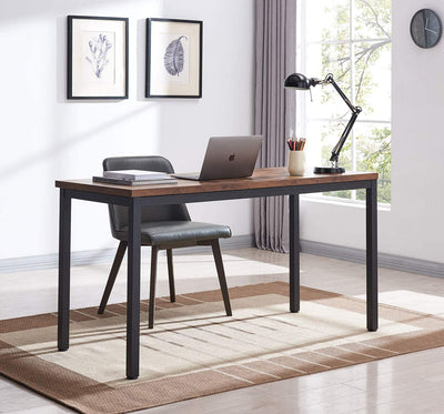Enjoy fast, free nationwide shipping!  Owned by a husband and wife team of high-school music teachers, HawkinsWoodshop.com is your one stop shop for affordable furniture.  Shop HawkinsWoodshop.com for solid wood & metal modern, traditional, contemporary, industrial, custom, rustic, and farmhouse furniture including our Rustic Brown Industrial Home Office Computer Desk.