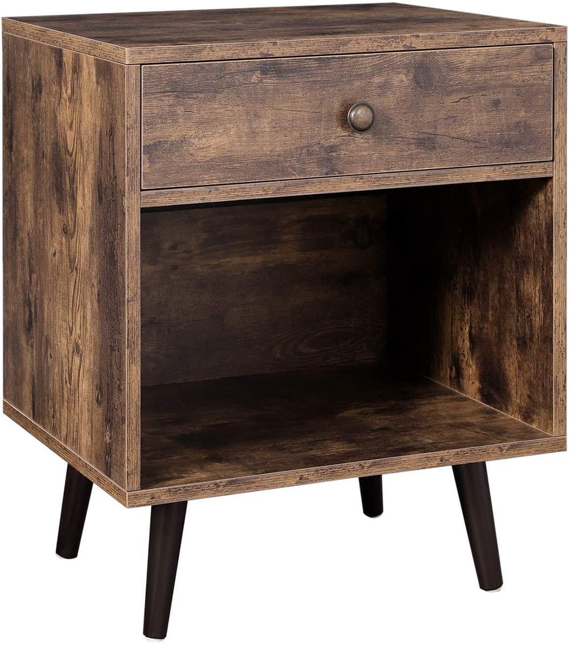 Enjoy fast, free nationwide shipping!  Family owned and operated, HawkinsWoodshop.com is your one stop shop for affordable furniture.  Shop HawkinsWoodshop.com for solid wood & metal modern, traditional, contemporary, industrial, custom, rustic, and farmhouse furniture including our Ryan Open Compartment Mid-Century End Table.