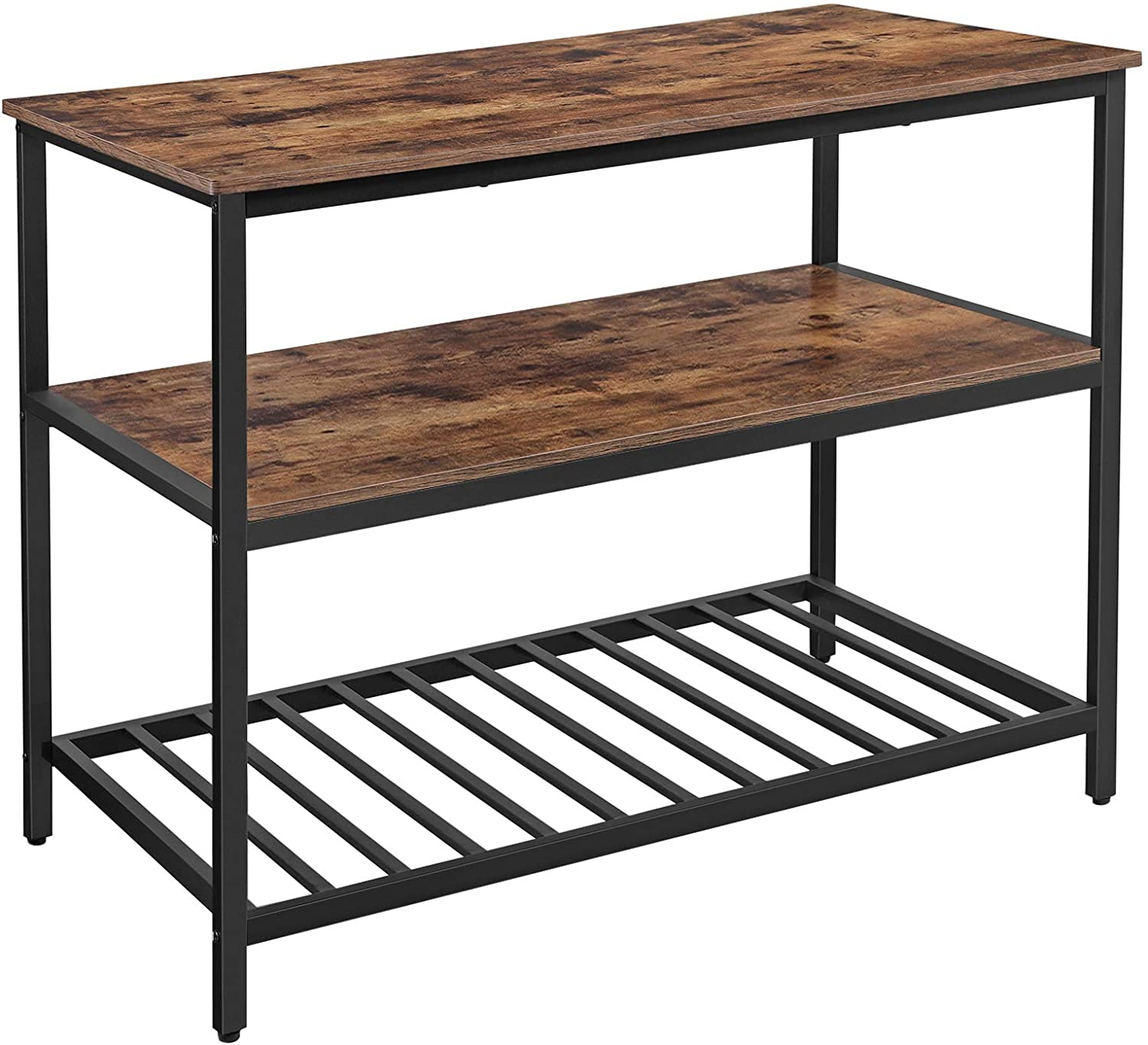 Enjoy fast, free nationwide shipping!  Family owned and operated, HawkinsWoodshop.com is your one stop shop for affordable furniture.  Shop HawkinsWoodshop.com for solid wood & metal modern, traditional, contemporary, industrial, custom, rustic, and farmhouse furniture including our Ryan 3 Shelves Kitchen Island.