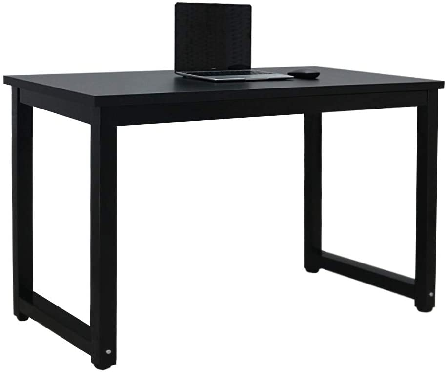 Black Computer Desk Workstation