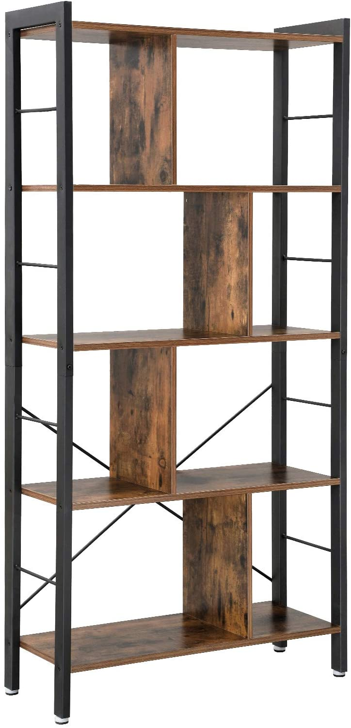 Enjoy fast, free nationwide shipping!  Owned by a husband and wife team of high-school music teachers, HawkinsWoodshop.com is your one stop shop for affordable furniture.  Shop HawkinsWoodshop.com for solid wood & metal modern, traditional, contemporary, industrial, custom, rustic, and farmhouse furniture including our Ryan 4 Tier Industrial Bookshelf Standing Rack.