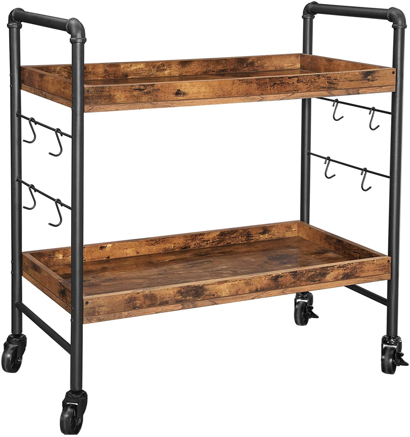 Enjoy fast, free nationwide shipping!  Owned by a husband and wife team of high-school music teachers, HawkinsWoodshop.com is your one stop shop for affordable furniture.  Shop HawkinsWoodshop.com for solid wood & metal modern, traditional, contemporary, industrial, custom, rustic, and farmhouse furniture including our Ryan Universal Casters Kitchen Cart.