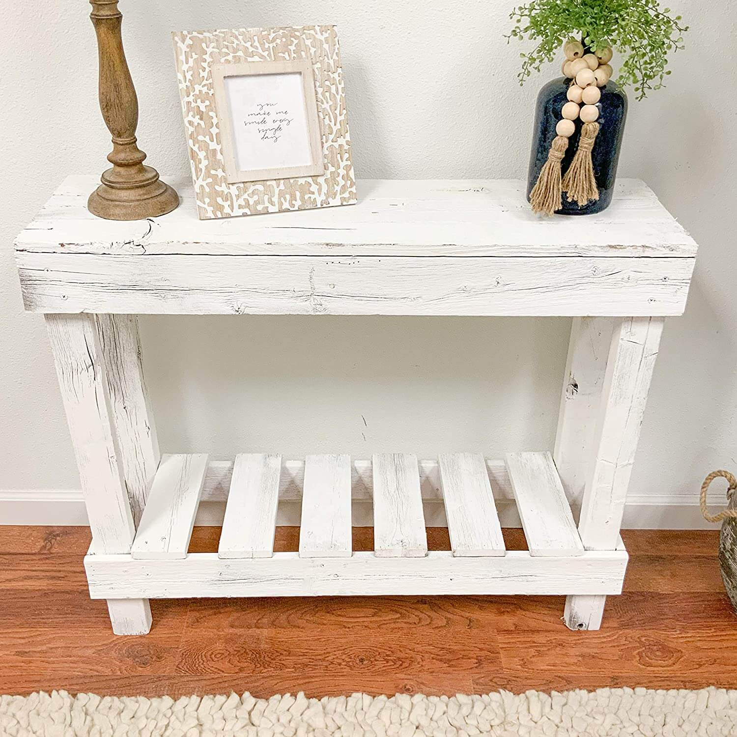 Rustic Barnwood Sofa Table
