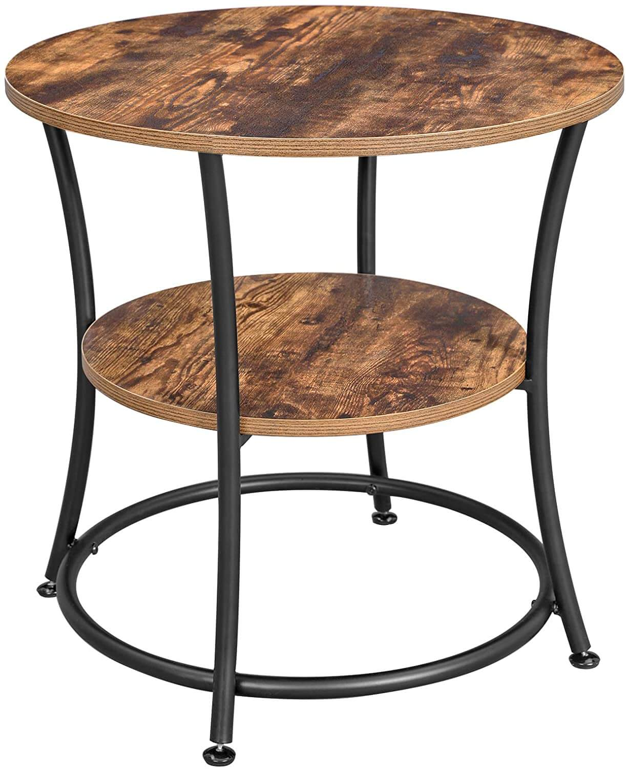 Enjoy fast, free nationwide shipping!  Owned by a husband and wife team of high-school music teachers, HawkinsWoodshop.com is your one stop shop for affordable furniture.  Shop HawkinsWoodshop.com for solid wood & metal modern, traditional, contemporary, industrial, custom, rustic, and farmhouse furniture including our Ryan 2 Tier Round End Table.