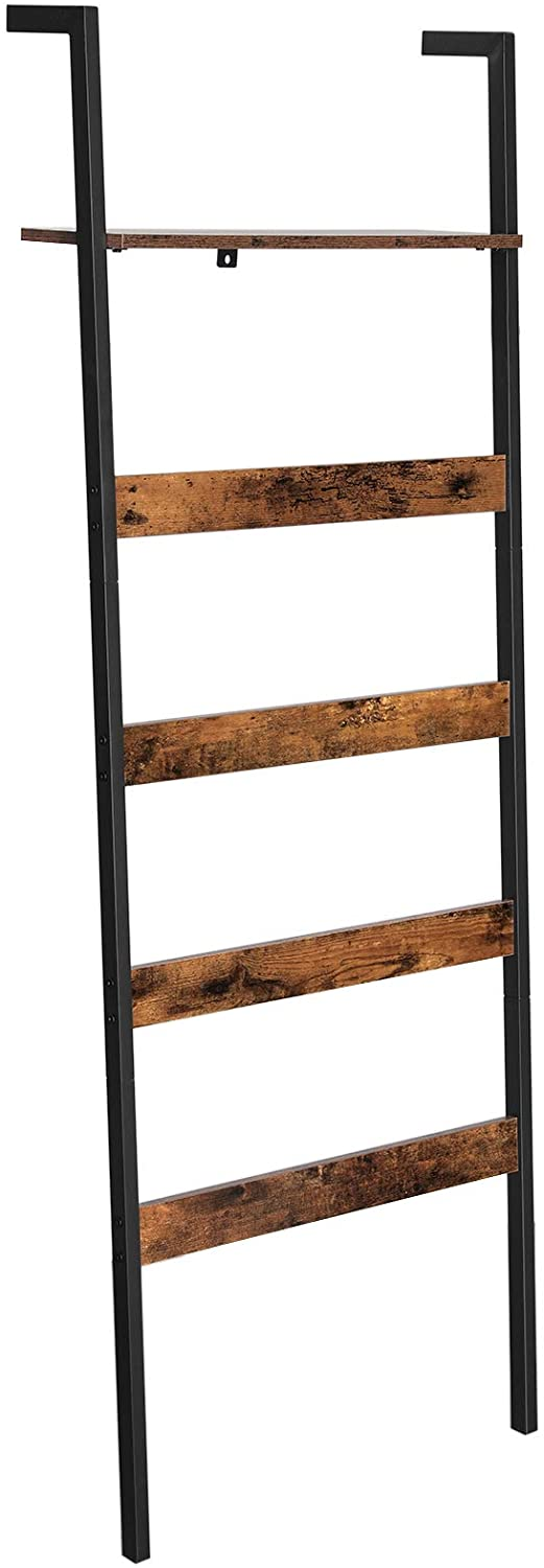Enjoy fast, free nationwide shipping!  Owned by a husband and wife team of high-school music teachers, HawkinsWoodshop.com is your one stop shop for affordable furniture.  Shop HawkinsWoodshop.com for solid wood & metal modern, traditional, contemporary, industrial, custom, rustic, and farmhouse furniture including our Wall-Leaning Blanket Ladder Shelf.