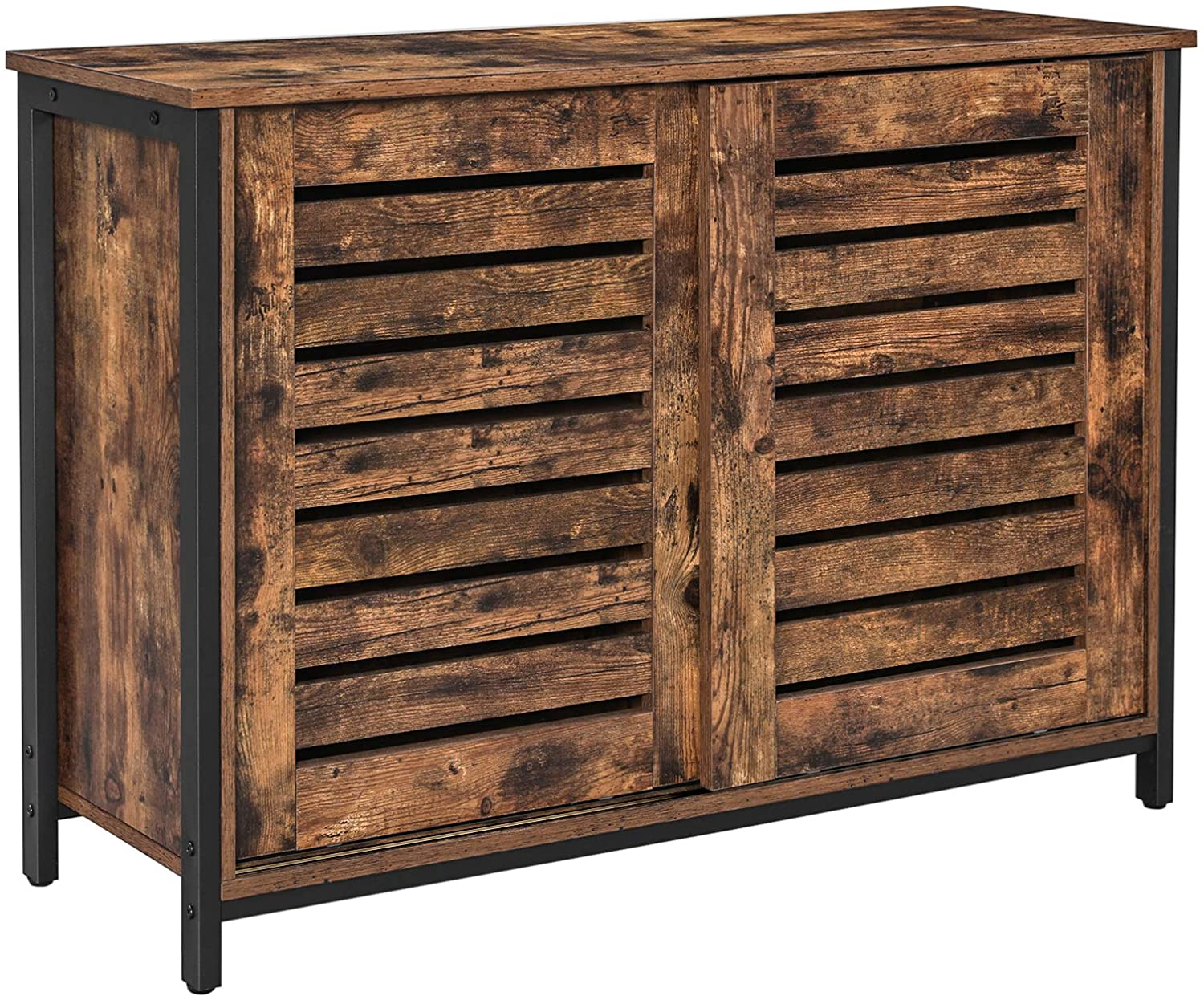 Enjoy fast, free nationwide shipping!  Family owned and operated, HawkinsWoodshop.com is your one stop shop for affordable furniture.  Shop HawkinsWoodshop.com for solid wood & metal modern, traditional, contemporary, industrial, custom, rustic, and farmhouse furniture including our Ryan Shutter Sliding Doors Floor Cabinet.