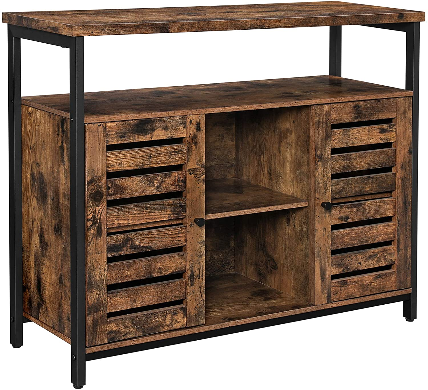 Enjoy fast, free nationwide shipping!  Family owned and operated, HawkinsWoodshop.com is your one stop shop for affordable furniture.  Shop HawkinsWoodshop.com for solid wood & metal modern, traditional, contemporary, industrial, custom, rustic, and farmhouse furniture including our Louvered Door Storage Cabinet with Cupboard.