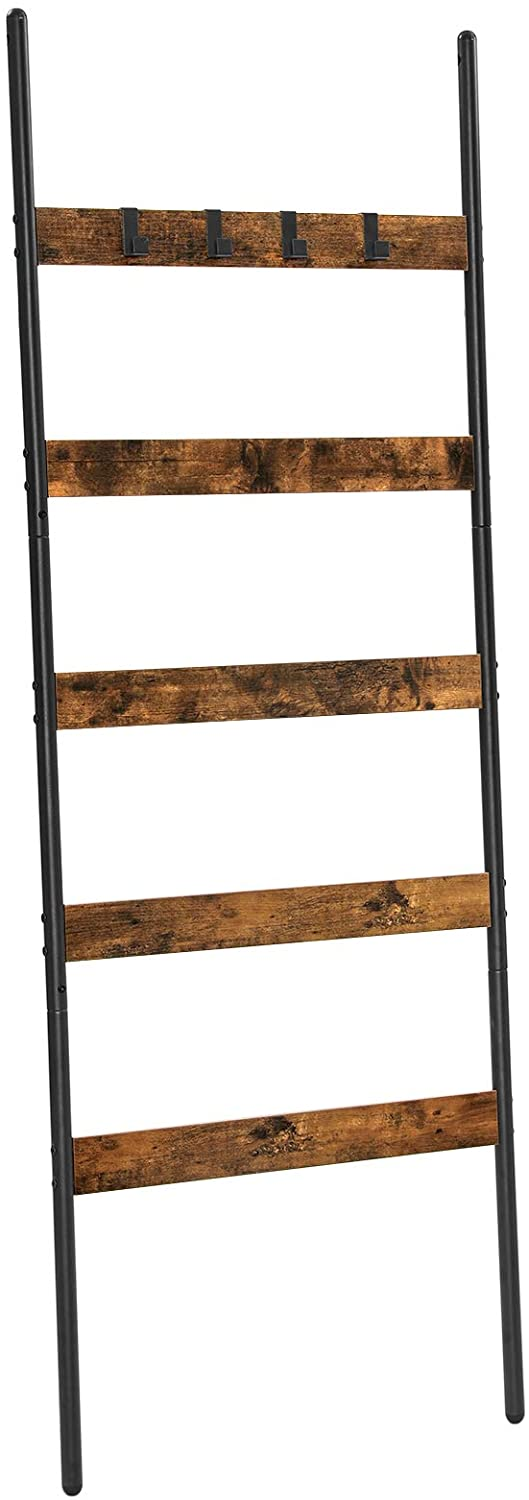 Enjoy fast, free nationwide shipping!  Owned by a husband and wife team of high-school music teachers, HawkinsWoodshop.com is your one stop shop for affordable furniture.  Shop HawkinsWoodshop.com for solid wood & metal modern, traditional, contemporary, industrial, custom, rustic, and farmhouse furniture including our Ryan 5-Tier Blanket Ladder Shelf.