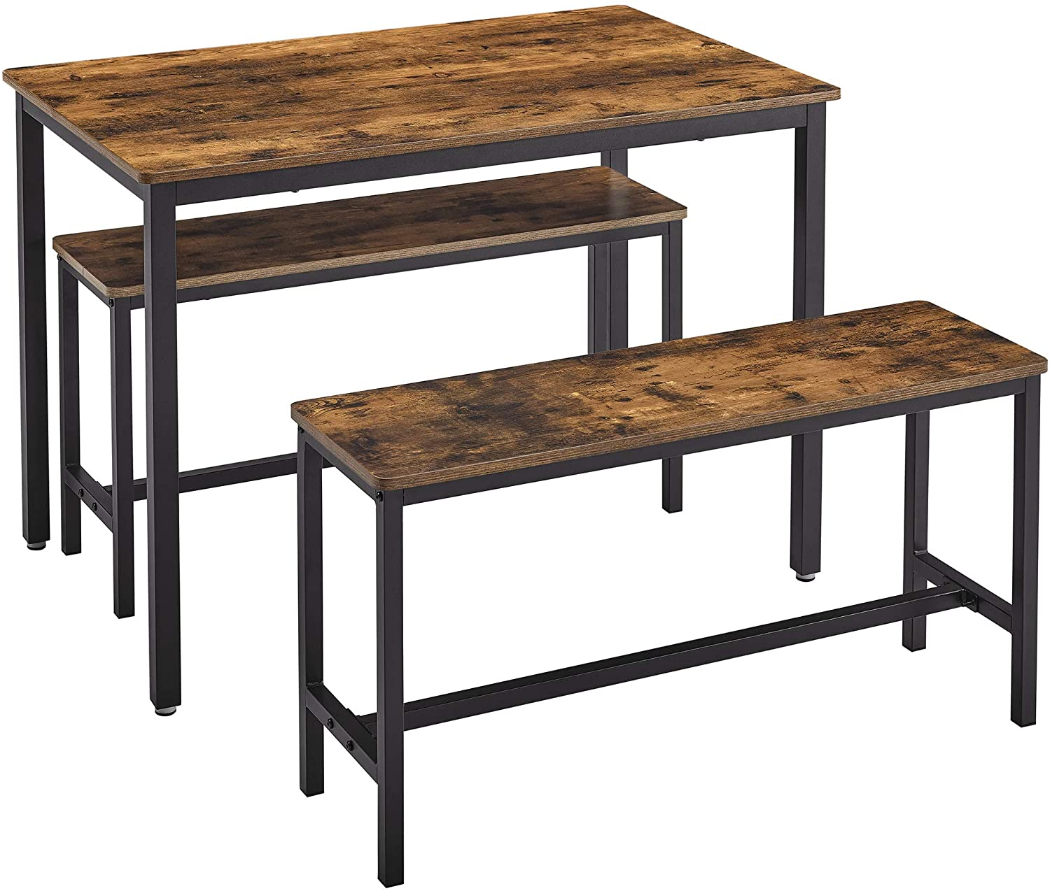 Enjoy fast, free nationwide shipping!  Family owned and operated, HawkinsWoodshop.com is your one stop shop for affordable furniture.  Shop HawkinsWoodshop.com for solid wood & metal modern, traditional, contemporary, industrial, custom, rustic, and farmhouse furniture including our Ryan Dining Table with 2 Benches.