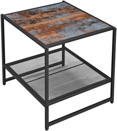 Enjoy fast, free nationwide shipping!  Family owned and operated, HawkinsWoodshop.com is your one stop shop for affordable furniture.  Shop HawkinsWoodshop.com for solid wood & metal modern, traditional, contemporary, industrial, custom, rustic, and farmhouse furniture including our Industrial Style Mesh Shelf Side Table.