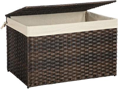 Enjoy fast, free nationwide shipping!  Family owned and operated, HawkinsWoodshop.com is your one stop shop for affordable furniture.  Shop HawkinsWoodshop.com for solid wood & metal modern, traditional, contemporary, industrial, custom, rustic, and farmhouse furniture including our Rattan-Style Storage Basket with Cotton Liner.