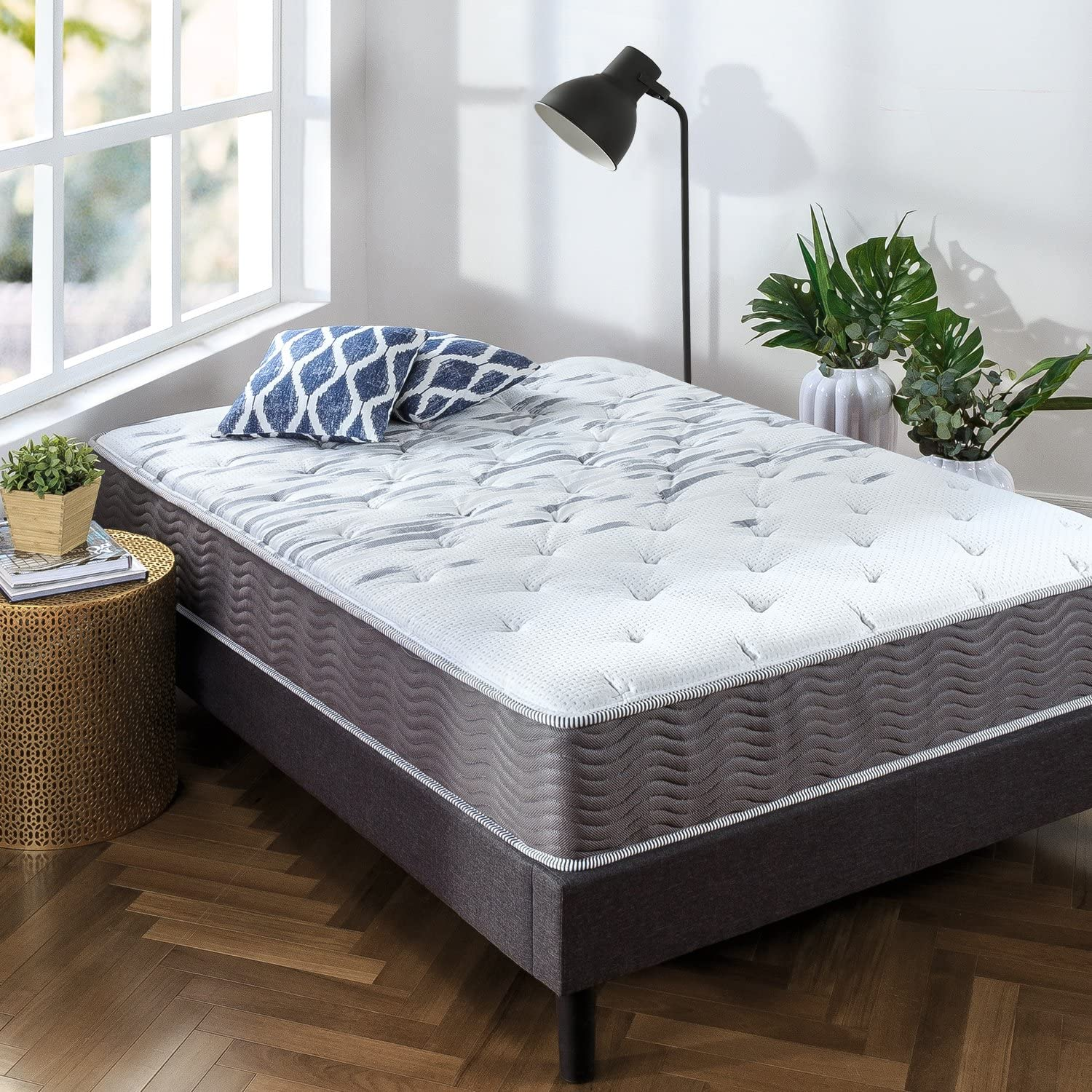 Extra Firm Pocket Spring Hybrid Mattress in Twin Size