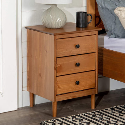 Enjoy fast, free nationwide shipping!  Family owned and operated, HawkinsWoodshop.com is your one stop shop for affordable furniture.  Shop HawkinsWoodshop.com for solid wood & metal modern, traditional, contemporary, industrial, custom, rustic, and farmhouse furniture including our Traditional Wood Nightstand Side Bedroom Storage Drawer in Caramel.