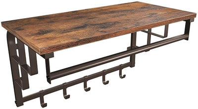 Enjoy fast, free nationwide shipping!  Family owned and operated, HawkinsWoodshop.com is your one stop shop for affordable furniture.  Shop HawkinsWoodshop.com for solid wood & metal modern, traditional, contemporary, industrial, custom, rustic, and farmhouse furniture including our Ryan Wall Mounted Industrial Coat Rack.