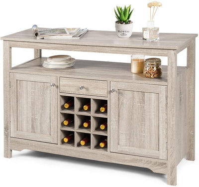 Enjoy fast, free nationwide shipping!  Owned by a husband and wife team of high-school music teachers, HawkinsWoodshop.com is your one stop shop for affordable furniture.  Shop HawkinsWoodshop.com for solid wood & metal modern, traditional, contemporary, industrial, custom, rustic, and farmhouse furniture including our Grey Wine Buffet Console Sideboard.