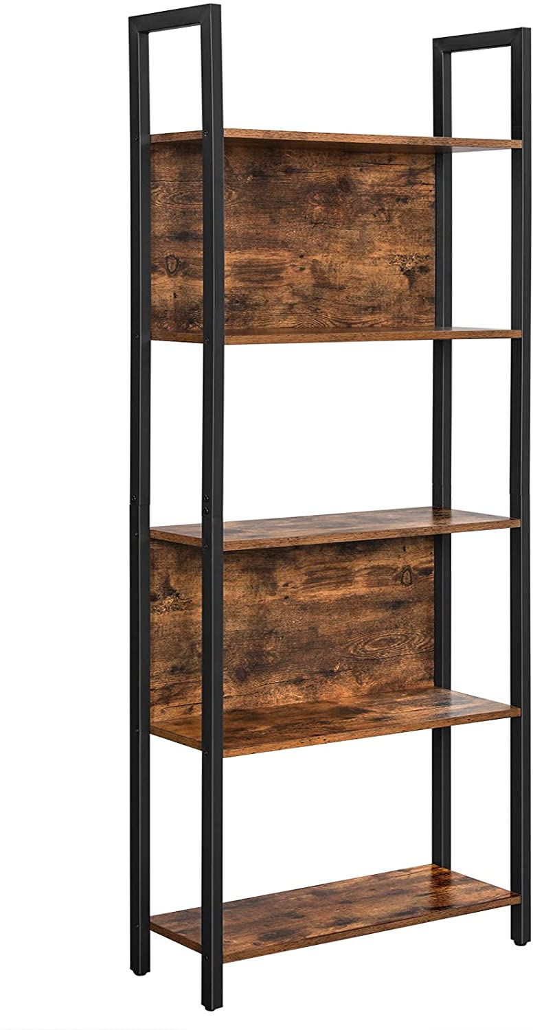 Enjoy fast, free nationwide shipping!  Owned by a husband and wife team of high-school music teachers, HawkinsWoodshop.com is your one stop shop for affordable furniture.  Shop HawkinsWoodshop.com for solid wood & metal modern, traditional, contemporary, industrial, custom, rustic, and farmhouse furniture including our Ryan Industrial 5-Tier Bookshelf Rack.