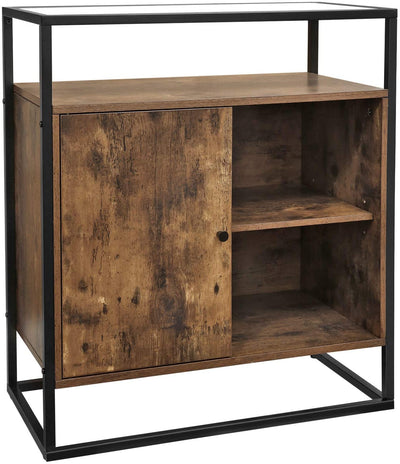 Enjoy fast, free nationwide shipping!  Owned by a husband and wife team of high-school music teachers, HawkinsWoodshop.com is your one stop shop for affordable furniture.  Shop HawkinsWoodshop.com for solid wood & metal modern, traditional, contemporary, industrial, custom, rustic, and farmhouse furniture including our Ryan Glass Top Storage Cupboard Console Table.