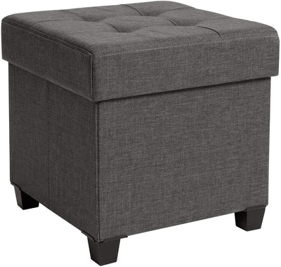 Enjoy fast, free nationwide shipping!  Family owned and operated, HawkinsWoodshop.com is your one stop shop for affordable furniture.  Shop HawkinsWoodshop.com for solid wood & metal modern, traditional, contemporary, industrial, custom, rustic, and farmhouse furniture including our Collapsible Cube Storage Dark Grey Ottoman.