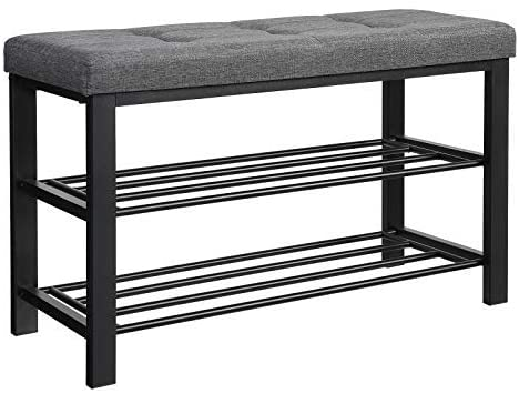 Enjoy fast, free nationwide shipping!  Family owned and operated, HawkinsWoodshop.com is your one stop shop for affordable furniture.  Shop HawkinsWoodshop.com for solid wood & metal modern, traditional, contemporary, industrial, custom, rustic, and farmhouse furniture including our 3-Tier Padded Seat Shoe Rack Bench.