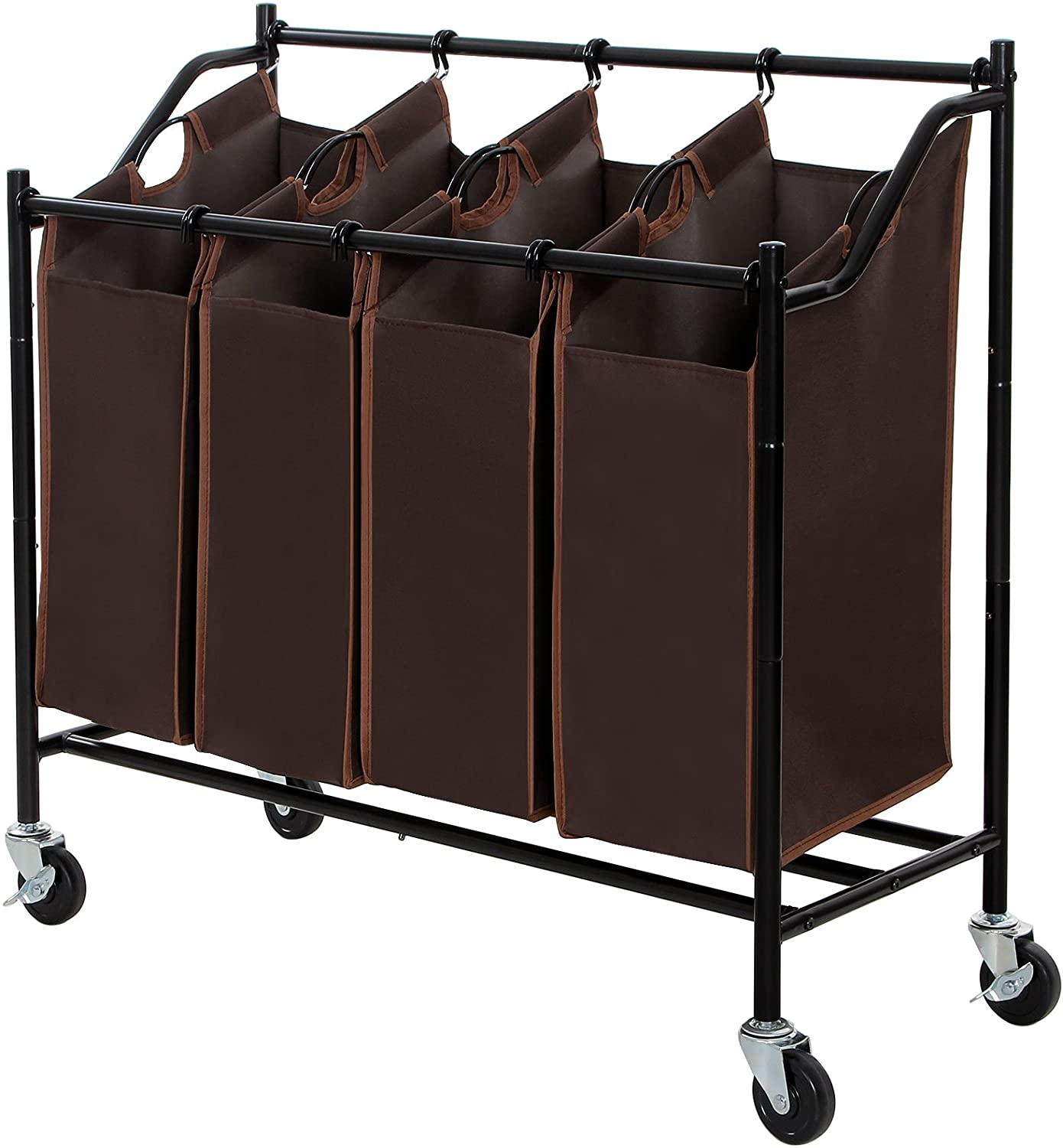Enjoy fast, free nationwide shipping!  Family owned and operated, HawkinsWoodshop.com is your one stop shop for affordable furniture.  Shop HawkinsWoodshop.com for solid wood & metal modern, traditional, contemporary, industrial, custom, rustic, and farmhouse furniture including our Brown 4-Bag Rolling Laundry Cart.