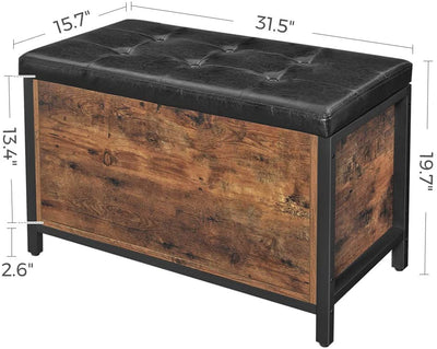 Enjoy fast, free nationwide shipping!  Family owned and operated, HawkinsWoodshop.com is your one stop shop for affordable furniture.  Shop HawkinsWoodshop.com for solid wood & metal modern, traditional, contemporary, industrial, custom, rustic, and farmhouse furniture including our Industrial Farmhouse Bedstead Storage Ottoman.