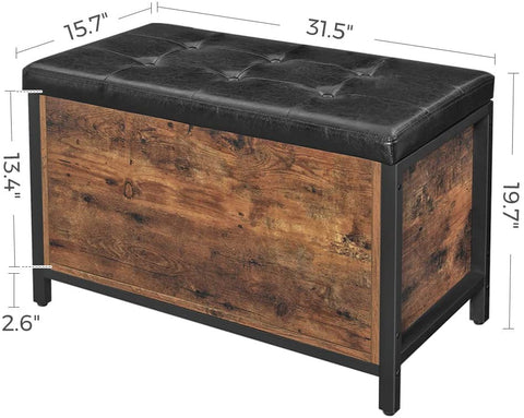Shop hawkinswoodshop.com for solid wood & metal modern, traditional, contemporary, industrial, custom, rustic, and farmhouse furniture including our Industrial Farmhouse Bedstead Storage Ottoman.  Ask about our free nationwide delivery service.