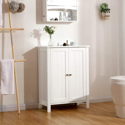 Enjoy fast, free nationwide shipping!  Family owned and operated, HawkinsWoodshop.com is your one stop shop for affordable furniture.  Shop HawkinsWoodshop.com for solid wood & metal modern, traditional, contemporary, industrial, custom, rustic, and farmhouse furniture including our Double Door Bathroom Storage Cabinet.