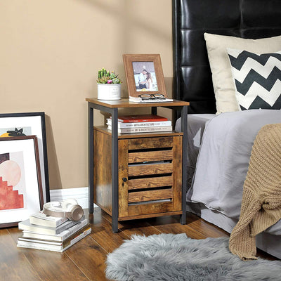 Enjoy fast, free nationwide shipping!  Family owned and operated, HawkinsWoodshop.com is your one stop shop for affordable furniture.  Shop HawkinsWoodshop.com for solid wood & metal modern, traditional, contemporary, industrial, custom, rustic, and farmhouse furniture including our Ryan Louvered Door End Table with Adjustable Shelf.