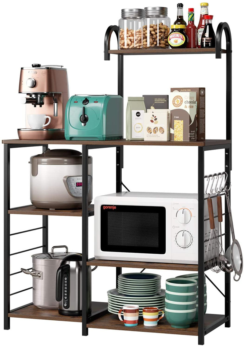 Enjoy fast, free nationwide shipping!  Owned by a husband and wife team of high-school music teachers, HawkinsWoodshop.com is your one stop shop for affordable furniture.  Shop HawkinsWoodshop.com for solid wood & metal modern, traditional, contemporary, industrial, custom, rustic, and farmhouse furniture including our Kitchen Baker's Rack w/ High Shelf.