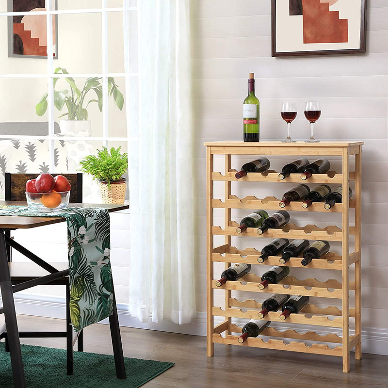 Enjoy fast, free nationwide shipping!  Owned by a husband and wife team of high-school music teachers, HawkinsWoodshop.com is your one stop shop for affordable furniture.  Shop HawkinsWoodshop.com for solid wood & metal modern, traditional, contemporary, industrial, custom, rustic, and farmhouse furniture including our 42-Bottle Freestanding Wine Rack.