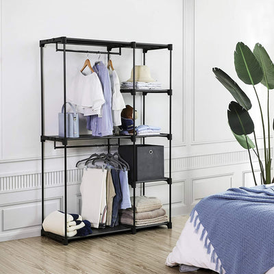 Enjoy fast, free nationwide shipping!  Family owned and operated, HawkinsWoodshop.com is your one stop shop for affordable furniture.  Shop HawkinsWoodshop.com for solid wood & metal modern, traditional, contemporary, industrial, custom, rustic, and farmhouse furniture including our Black Freestanding Closet Organizer.