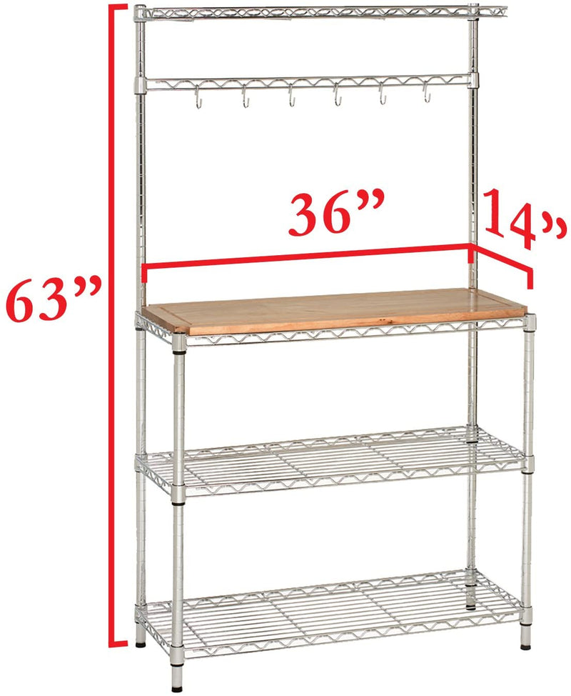 Enjoy fast, free nationwide shipping!  Owned by a husband and wife team of high-school music teachers, HawkinsWoodshop.com is your one stop shop for affordable furniture.  Shop HawkinsWoodshop.com for solid wood & metal modern, traditional, contemporary, industrial, custom, rustic, and farmhouse furniture including our Baker's Rack for Kitchens.