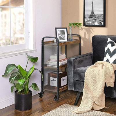 Enjoy fast, free nationwide shipping!  Owned by a husband and wife team of high-school music teachers, HawkinsWoodshop.com is your one stop shop for affordable furniture.  Shop HawkinsWoodshop.com for solid wood & metal modern, traditional, contemporary, industrial, custom, rustic, and farmhouse furniture including our Rolling Industrial Farmhouse Wood & Metal Serving Cart.